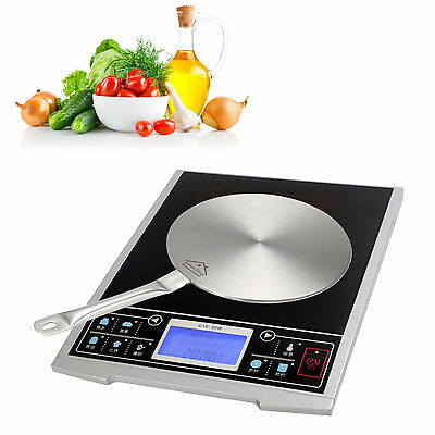 Induction Cooktop Converter Interface Disc S/L Durable Stainless Steel Cookware