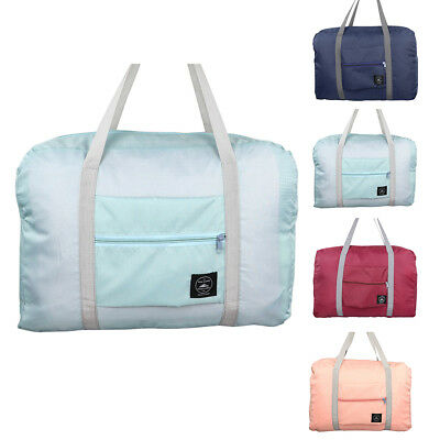 Foldable Suitcase Large Travel Bag Luggage Carry-On Clothes Storage Organizer AU