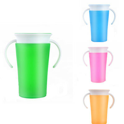 Toddler Drinking 360 Degree Miracle Training Cup Safe Spill Girl Boys Kids 260ml
