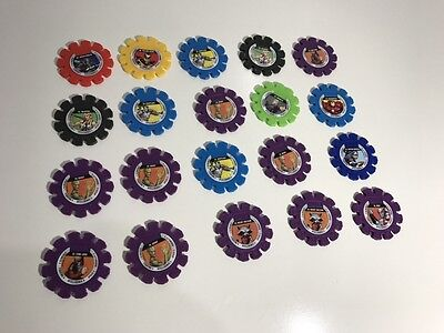 Woolworths Marvel Super Heroes Tazos,Discs - BULK LOT INSTANT COLLECTION -- C