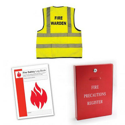 Fire Marshal/Fire Warden Fire Safety Kit