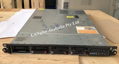 HP Proliant DL360 G6 Server 2x Quad Core Xeon 2.66Ghz 24GB RAM 3x 72GB HDD 2xPSU