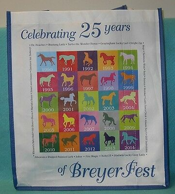 Breyer Breyerfest 25Th Annivesary Tote Bag New 2014