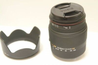 Excellent +++Sigma 18-200mm f/3.5-6.3 II DC OS HSM Lens for Canon
