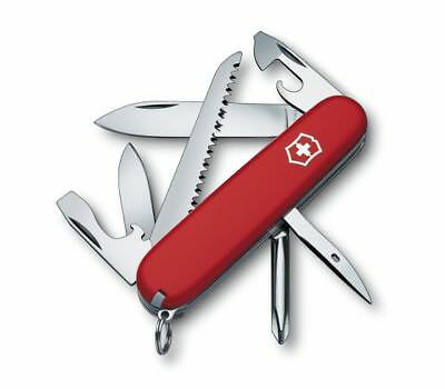 VICTORINOX Swiss Army Knife Hiker with Screwdriver and Saw 1.4613 Red 35695
