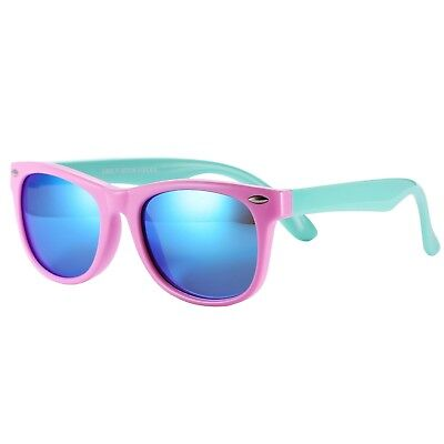 Original Flexible Kids Polarized Wayfarer Sunglasses for Baby and Ch Top Qulity