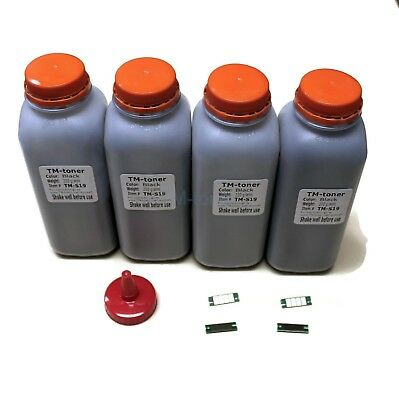 4x Toner refill with Chips for Ricoh SP4510SF SP4510DN SP3610SF 3600DN cartridge