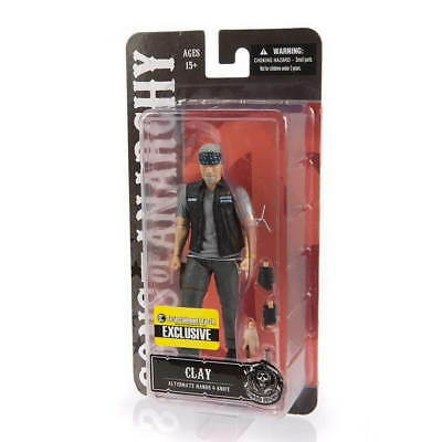 SONS OF ANARCHY CLAY MORROW Biker Outfit EE Exclusive 15cm Figur NEU+OVP