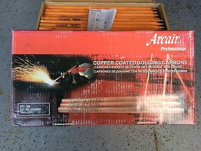 """Arcair Professional 5/8"""" x 17"""" Copper Coated Gouging Carbons Jetrods 24104003"""