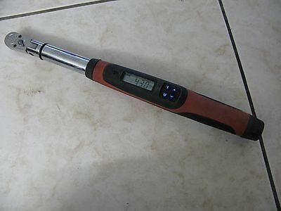 Snap On 3/8 Drive Electronic Techwrench Torque Wrench TECH2FR100-YAM, 5-100ft/lb