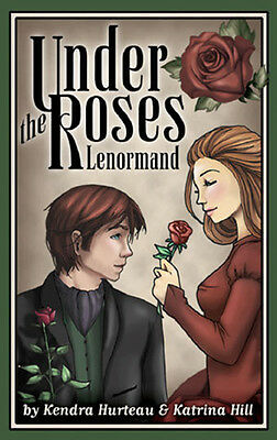 Under the Roses Lenormand Deck NEW IN BOX US Games Oracle 40 Cards w/ Booklet