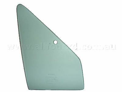 Quarter 1/4 Vent Window Glass Right for Hilux Dual Cab 1989 to 1998 Genuine
