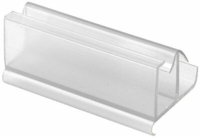 Prime-Line Products M 6217 Shower Door Frameless Guide, Clear