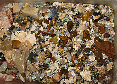 Opal Rough 1250 Grams Of Rough Opal Specimen From Various Fields