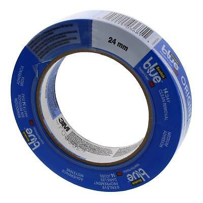 Masking Tape Blue 24mm Safe Release Medium Adhesion 14 Day Removal Scotch