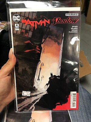 Batman The Shadow # 4 (of 6) Sale Variant Cover NM DC Comic Book