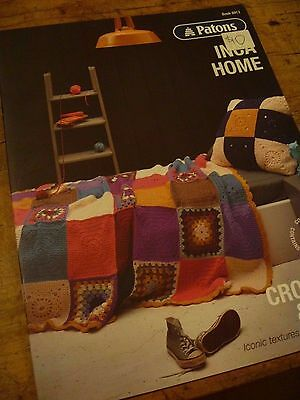 Patons Crochet and Knit - Inca Home Pattern Book 8013