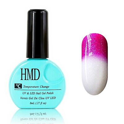 CANADA HMD Soak Off UV LED Gel Nails Polish Temperature Changing # 009 fast cure