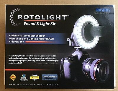 Rotolight Sound and Light Kit - Professional HD LED Light & Roto Micro