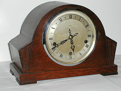 1930's to 40's Westminster chime mantle clock by Enfield, EXCELLENT