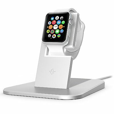 Twelve South HiRise stand for Apple Watch, silver   Metal charging dock for Appl