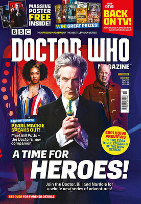 Doctor Who Magazine Issue 511 July 2017 (new) With Free Gift