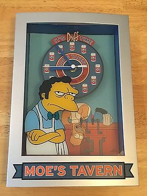 Moe (Simpsons Wall/Desk Clock) The Simpsons - Homer - Free Shipping
