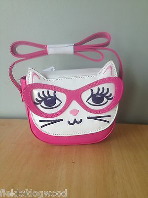 NWT Gymboree Bright Ideas Pink Cat Purse Girls 3 4 5 6 7 8 10 12 or One size