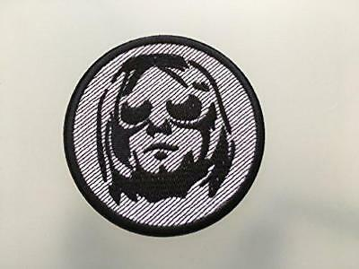 "KURT COBAIN NIRVANA Patch - Embroidered Iron On Patch 3 "" - GRUNGE"