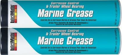 NEW MARINE GREASE CARTRIDGE 85g TWIN PACK FOR 120cc GREASE GUN