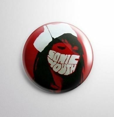 SONIC YOUTH -  Pinbacks Badge Button 25mm 1'' -..