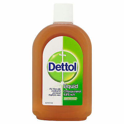 Dettol Liquid Antiseptic Disinfectant Original - 500ml - Multiple Packs