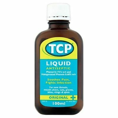 TCP Antiseptic Liquid 100ml - 1, 2, 3, or 6 Packs