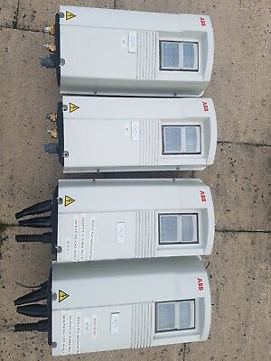 4 x ABB ACS401000435 3 PHASE FREQUENCY INVERTERS