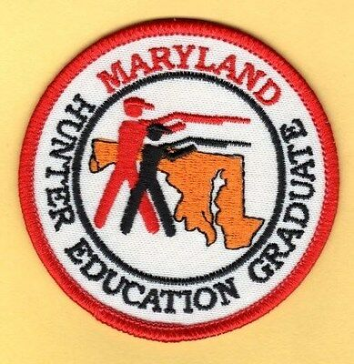 Montana department of fish and game safe hunter patch for Maryland fish and game