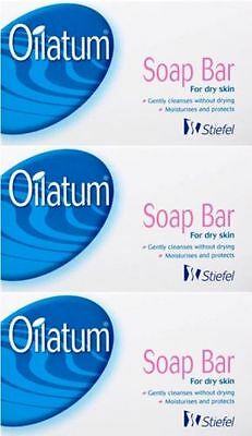 3, 6 or 12 Soap Bars  -   Oilatum Soap Bar for Dry Skin 100g