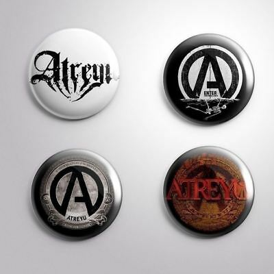 4 ATREYU - Pinbacks Badge Button 25mm 1''