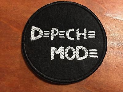 DEPECHE MODE Patch - Embroidered Iron On Patch 3 ""