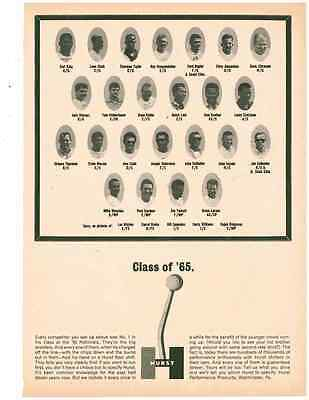 1965 Hurst Shifter / Class Of '65 Drag Racers  ~  Vintage Original Print Ad