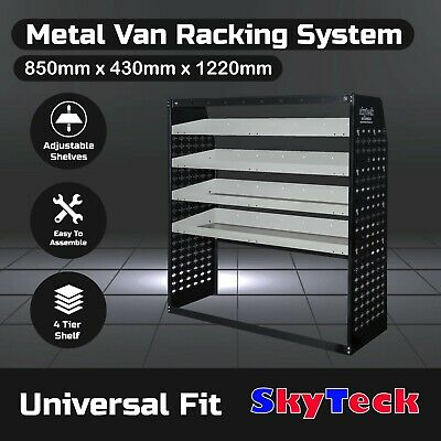 Van shelvings Guard 4 Shelf  Steel Racking Storage 85cm*43cm*122cm BB2- VS002