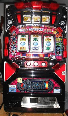 Quarter / Token Pachislo Fever Queen 6 Reel Slot Machine / 285 Page Manual
