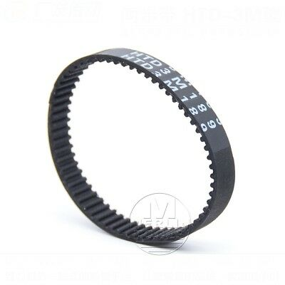HTD 3M Closed Timing Belt 3mm pitch 10-15mm width - CNC Drives - 120mm to 495mm