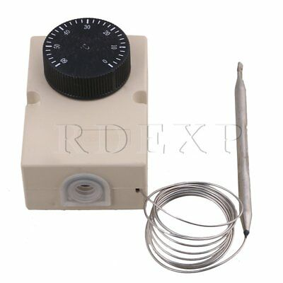 150MM Cable Length 0-60°C Adjustable Temperature Controller 110-220V