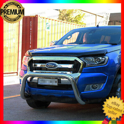 FORD Ranger PX MKII Stainless Steel Nudge Bar 2015-2017 Suits Tech Pack & Sensor