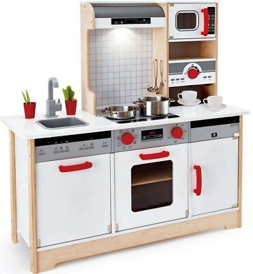 New Hape Delicious Memories Wooden Play Kitchen Childrens Toy