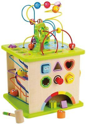 New Hape Country Critters Play Cube Activity Centre Childrens Toy