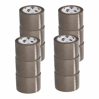 3 inch Tan Packing Tape 12 Jumbo Rolls + Free Shipping