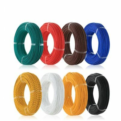 22AWG UL1015 Stranded Wire Automotive Equipment Hookup Cable 17/0.12TS 600V IL