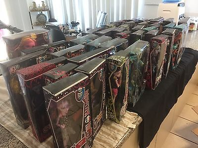 37 x MONSTER HIGH ASSORTED DOLLS NRFB - PICK UP ONLY