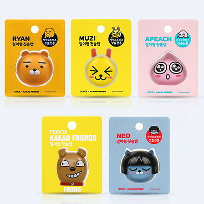 Kakao Friends Toothbrush Holder Wall Tooth brush soft portable travel kids cute